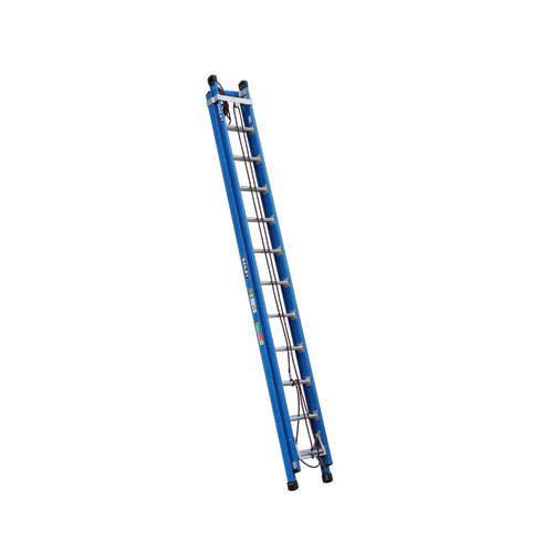 Bailey 3.8-6.5m 170kg Industrial Rated Pro 12 Rung Fibreglass Extension Ladder