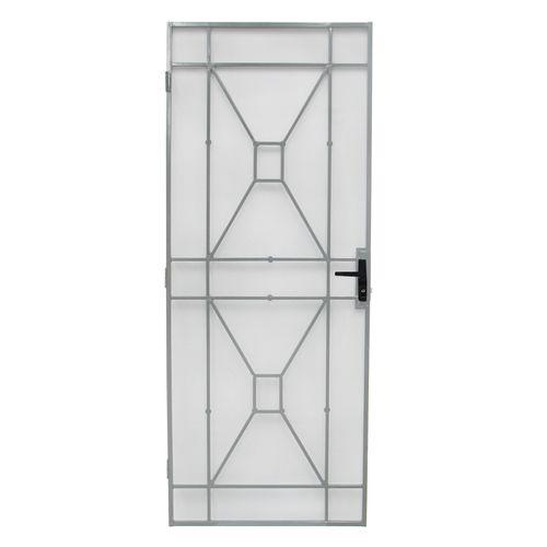 Bastion 2024 x 806mm White Sutton Imperial Steel Frame Screen Door