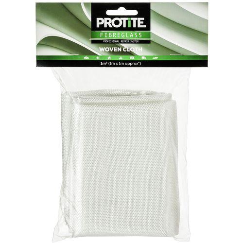 Protite  Fibreglass 1 x 1m Woven Cloth