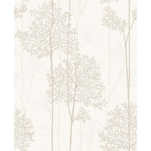 Superfresco Easy 52cm Cream Gold Eternal Wallpaper - ½m Cream and Gold