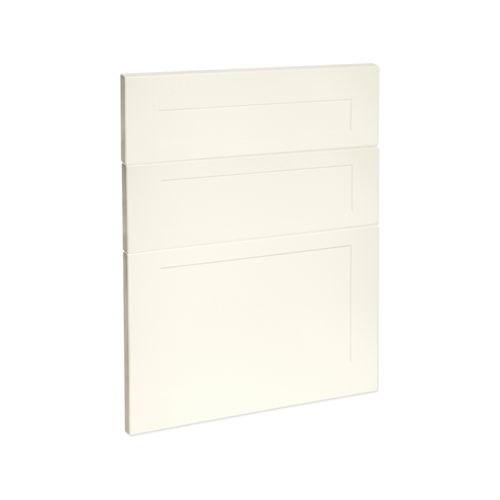 Kaboodle 600mm Antique White Alpine Drawer Panel - 3 Pack