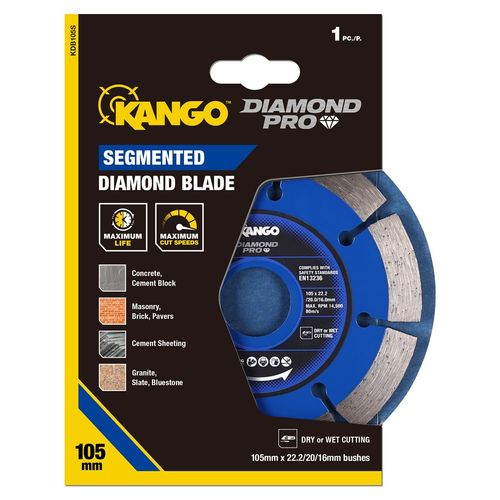 Kango 105mm Segmented Diamond Blade