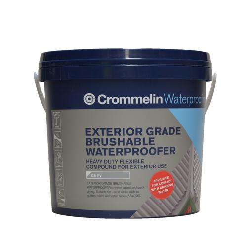 Crommelin 4L Exterior Grade Brushable Waterproofer