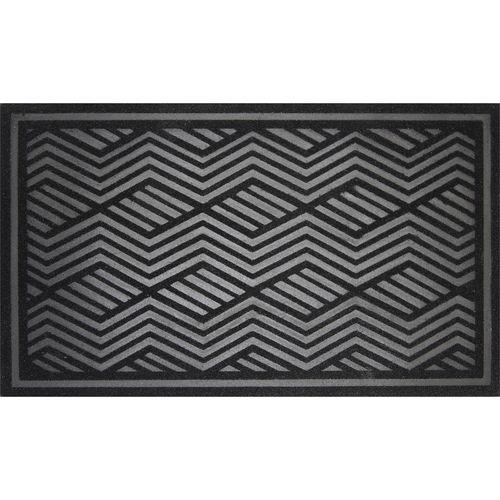 Bayliss 45 x 75cm Black And Grey Quartz Outdoor Mat