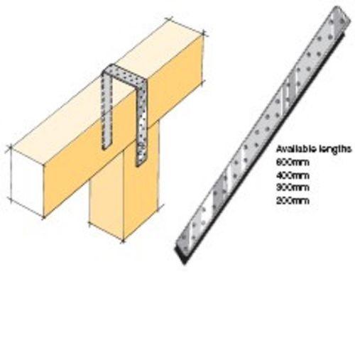 LUMBERLOK Sheet Brace Strap 400mm Stainless Steel SSSBS4