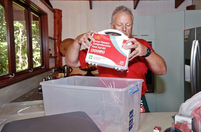 DIY Step Image - How to prepare for a flood . Blob storage upload.