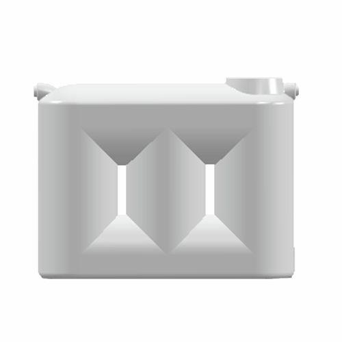 Clark 2000L Poly Slim Water Tank - White