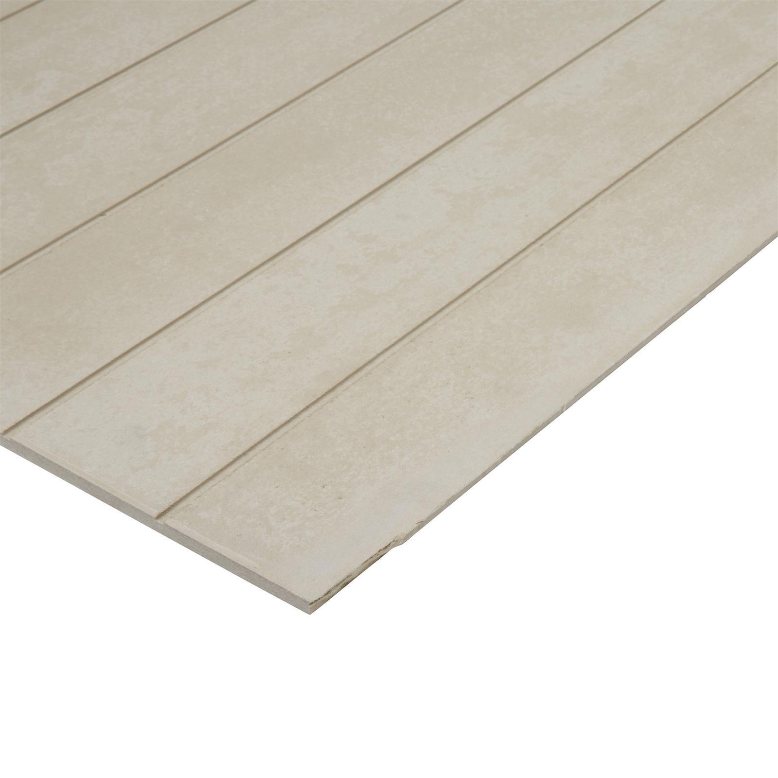 BGC Duragroove Smooth Narrow 2450x1200x9mm Fibre Cement Sheet