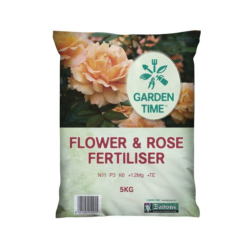 Garden Time 5kg Flower And Rose Fertiliser