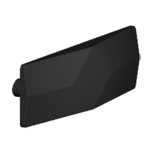 Yale 4.0mm Black Non Standard Pin Wedge For Windows
