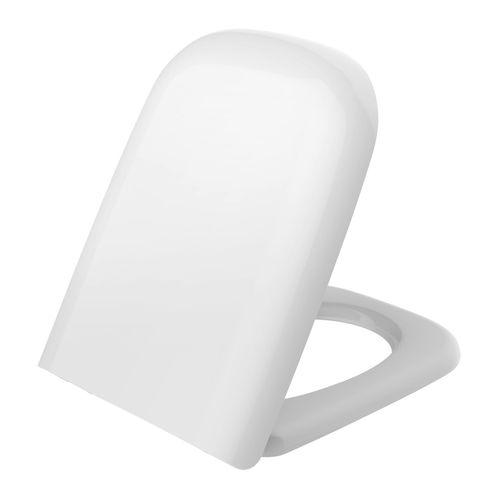 Mondella White Rumba Back To Wall Toilet Seat