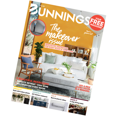 bunnings magazine july 2021 cover