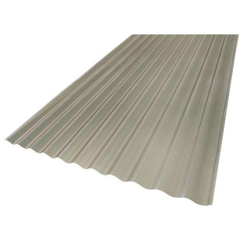 Suntuf 860 x 17mm x 3.0m Solar Grey Corrugated Polycarbonate Roofing