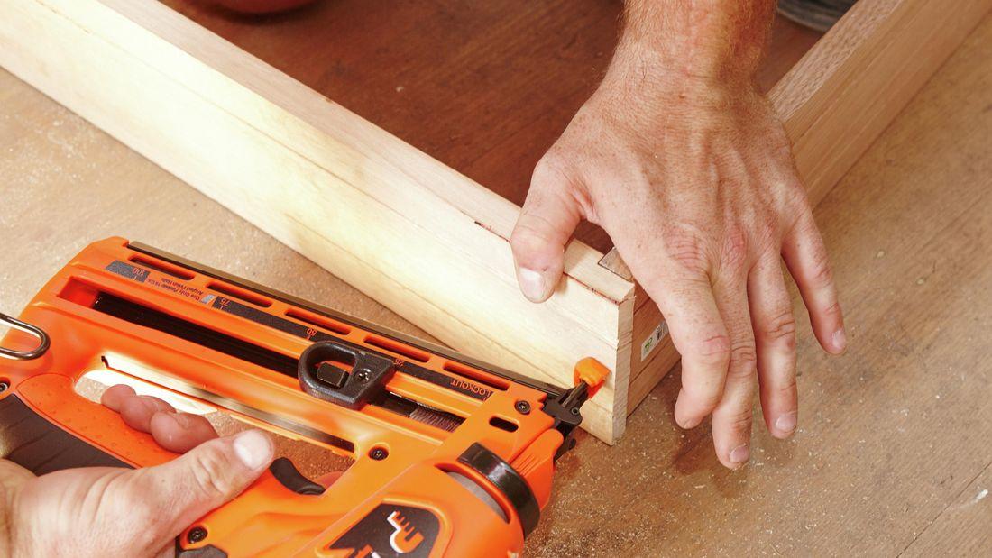 DIY Step Image - How to install a door jamb . Blob storage upload.
