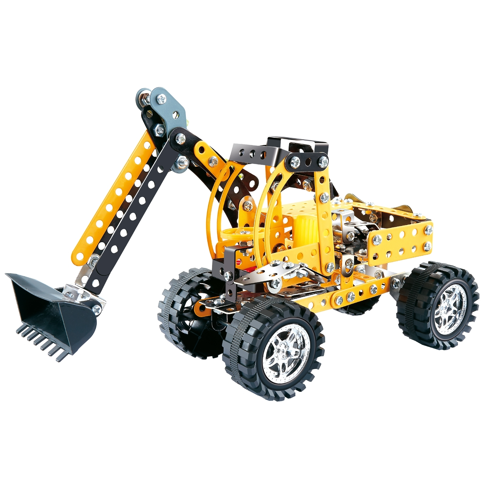 Boyle S.T.E.A.M. Excavator Metal Craft Construction Kit
