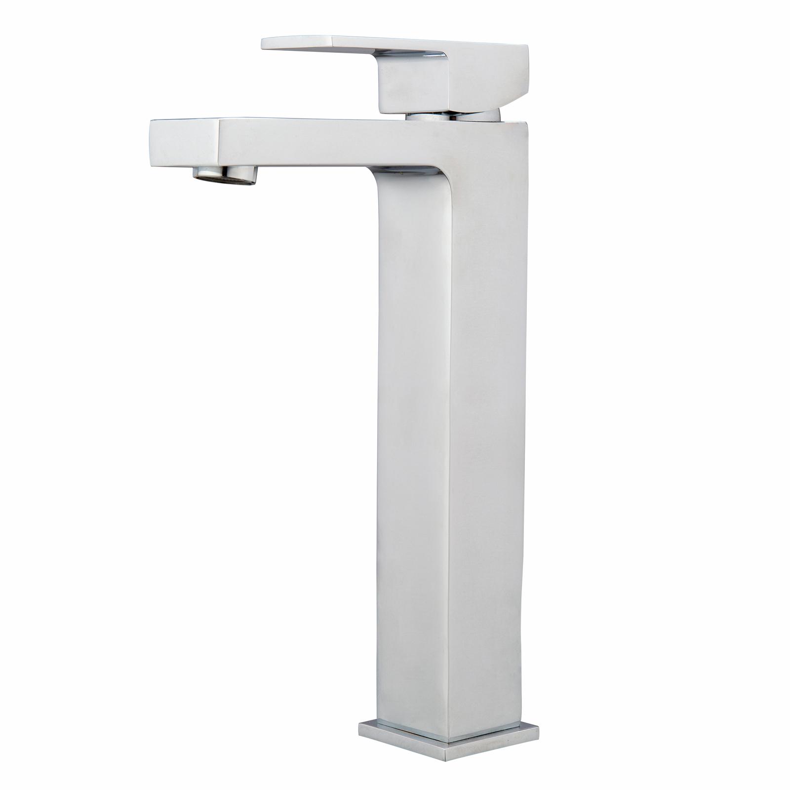 Mondella Chrome Rococo Tall Basin Mixer - Suitable For Unequal / Mains Pressure