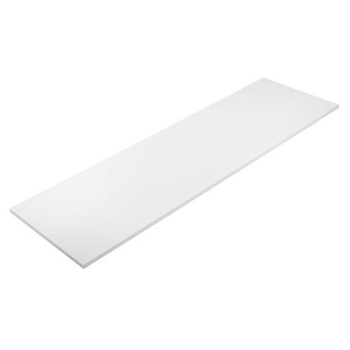 Flexi Storage 1200 x 350 x 16mm White Timber Shelf