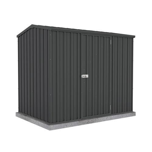 Absco Sheds 2.26 x 1.52 x 1.95m Premier Single Door Garden Shed - Monument