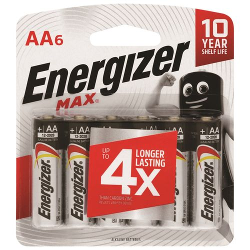 Energizer Max AA Battery - 6 Pack