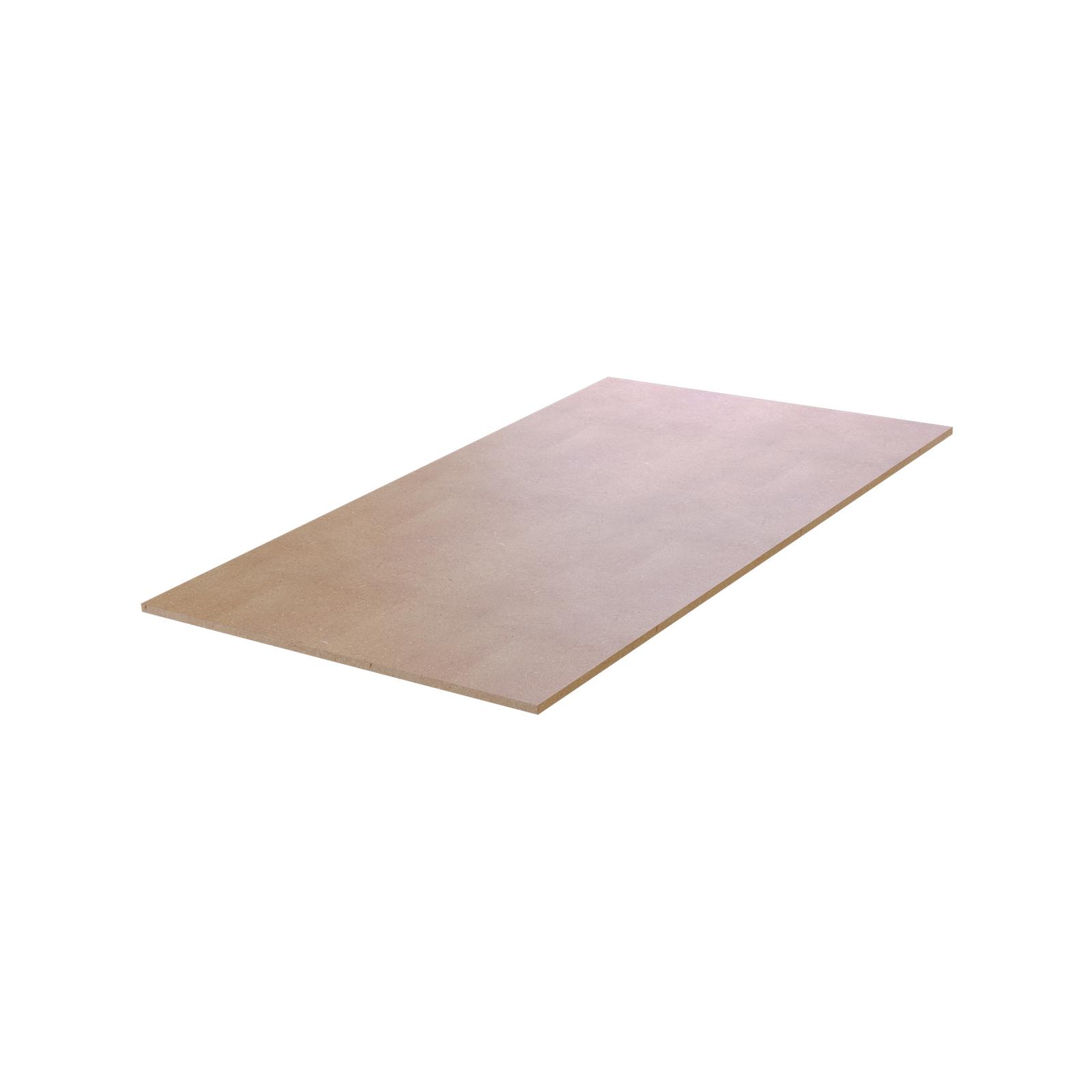 Rack It 897 x 497mm Light Brown 400kg MDF Shelf For 530 Rack Depth