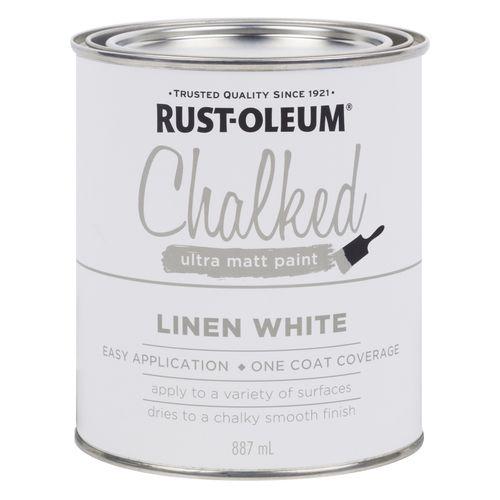Rust-Oleum 887ml Chalked Ultra Matt Paint