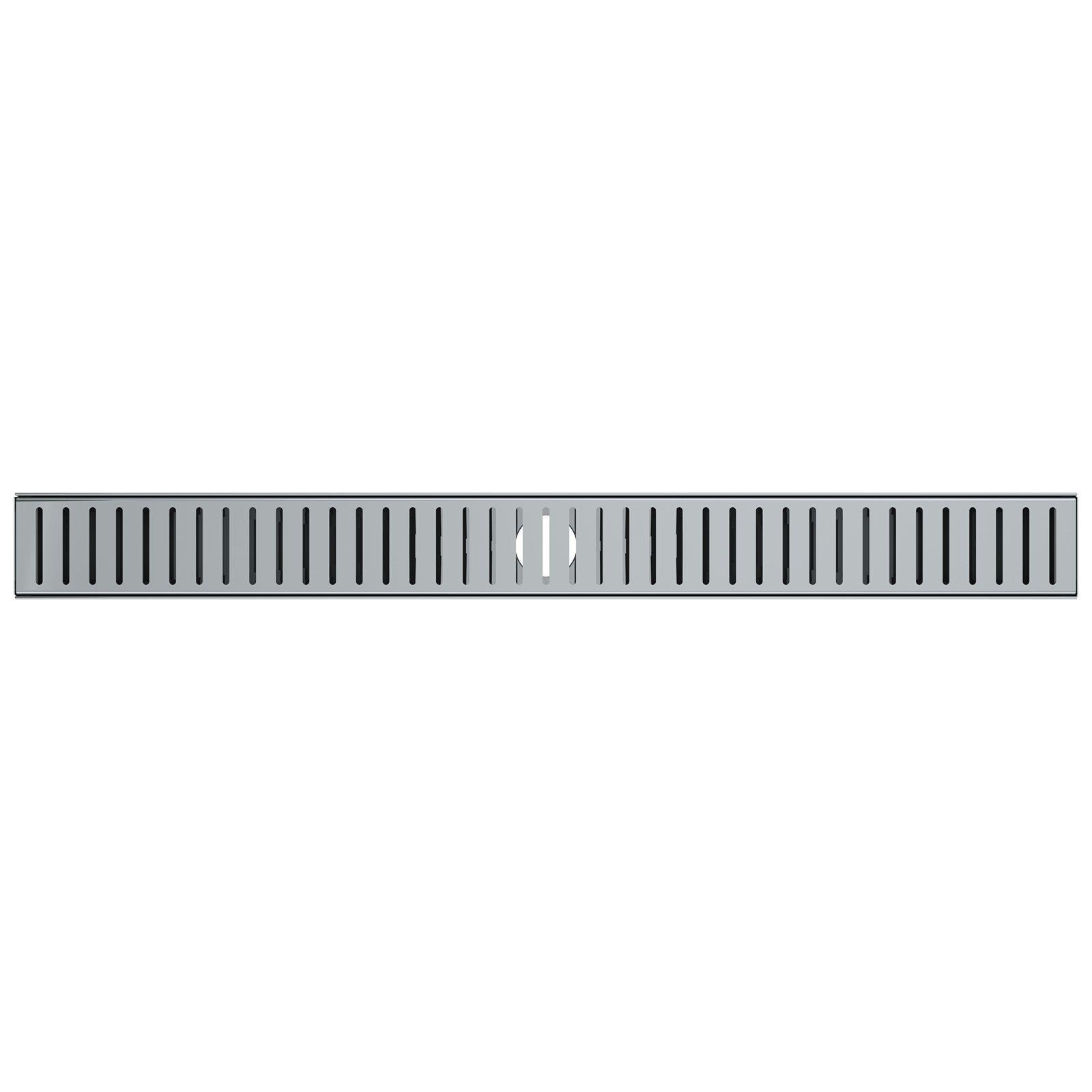 Stein 1000 x 80 x 20mm Quick Tile Channel Drain Kit