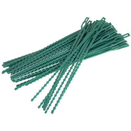 Saxon 230mm Adjustable Plant Ties - 50 Pack