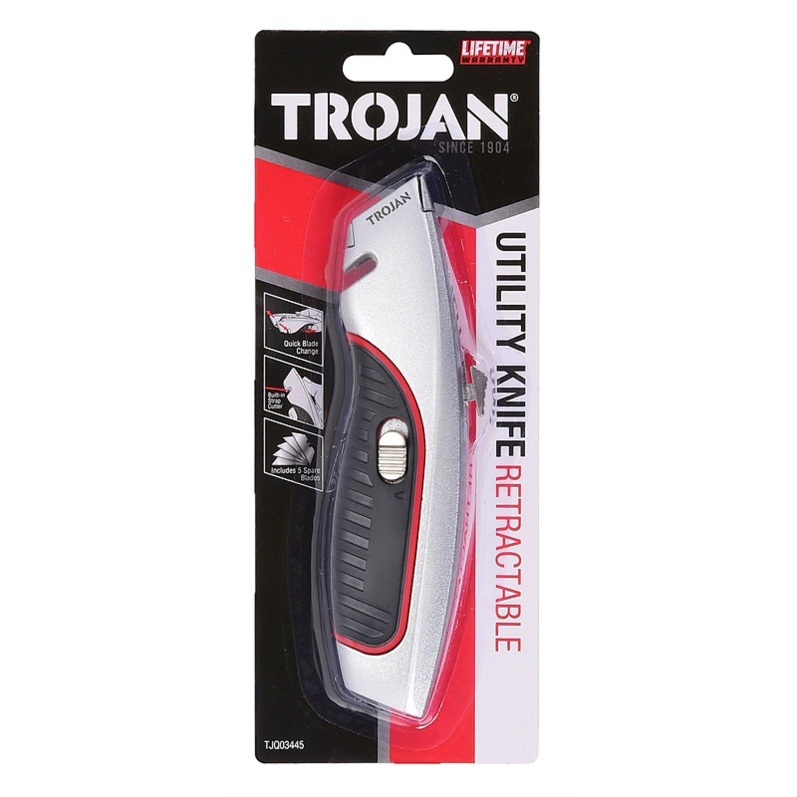 Trojan Retractable Knife