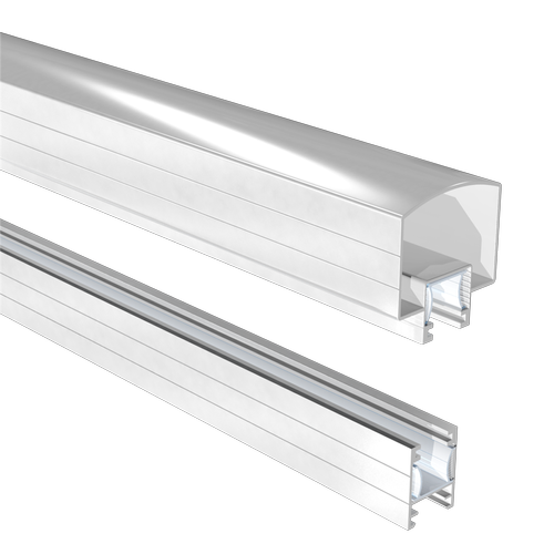Peak 1800mm Aluminium Balustrade Hand And Base Rail