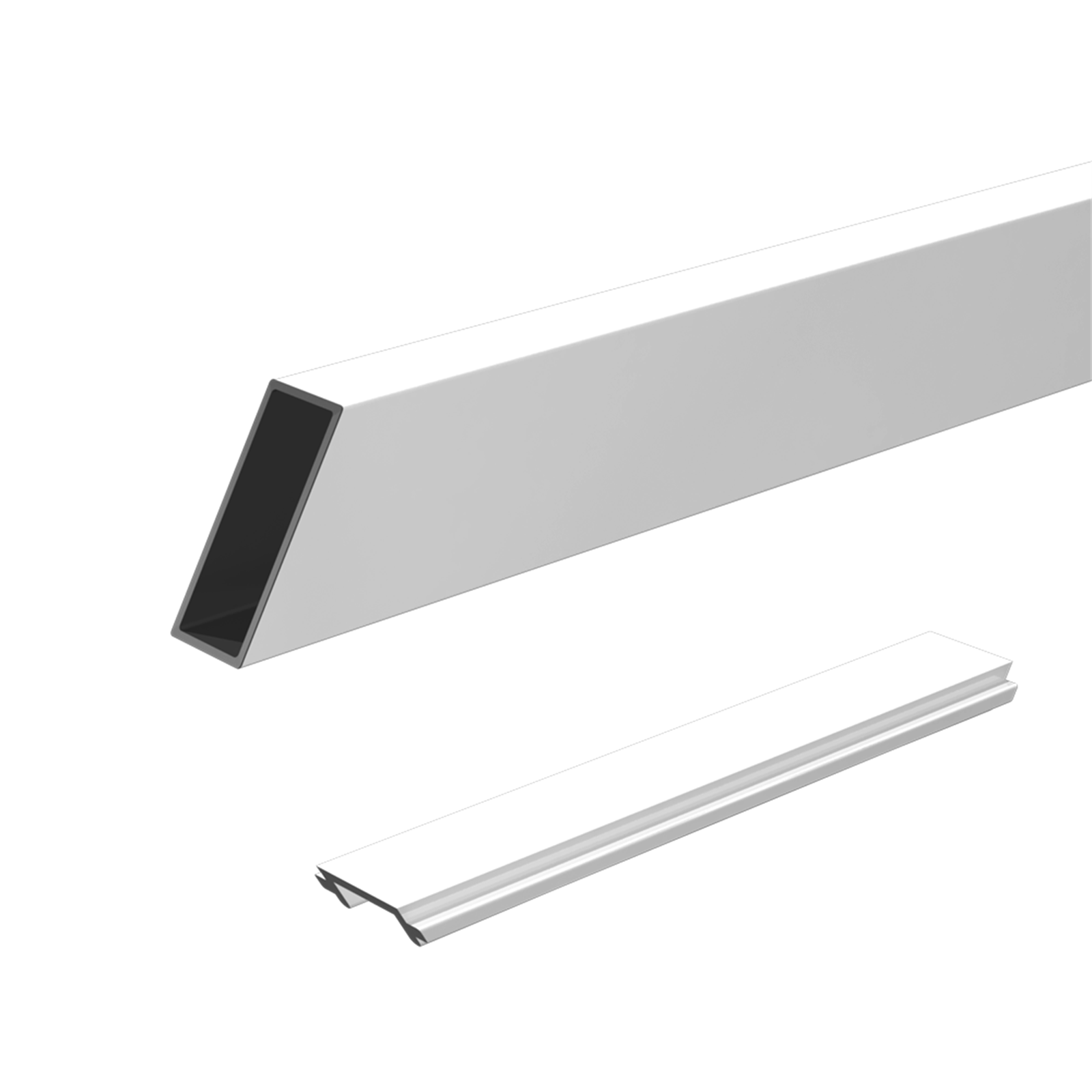Peak 1800mm Black Aluminium Balustrade Wide Stair Balusters And Spacer Kit