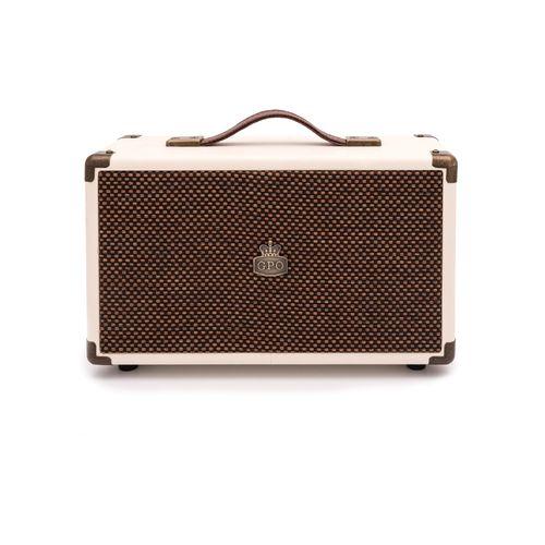 GPO WESTWOOD Bluetooth Speaker - CREAM & TAN