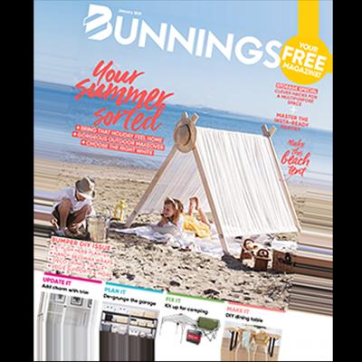 Bunnings Magazine cover