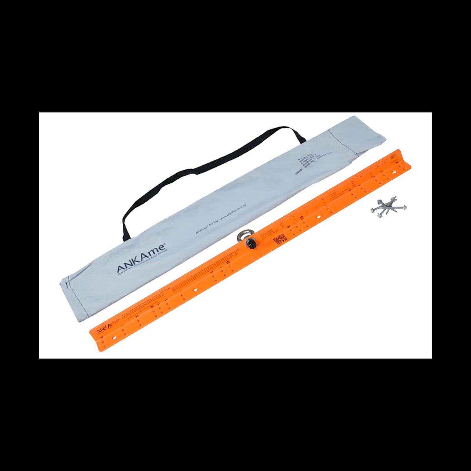 ANKAme 955 x 45 x 45mm Orange Temporary Roof Anchor