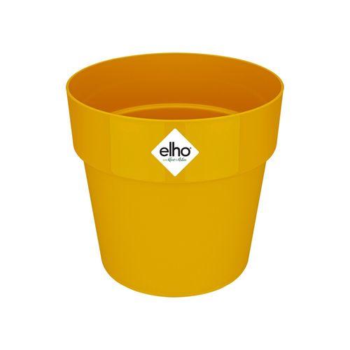 Elho 14cm B.For Original Round Pot - Ochre