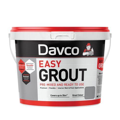 Davco 2L Bright White Pre-Mixed Easy Grout
