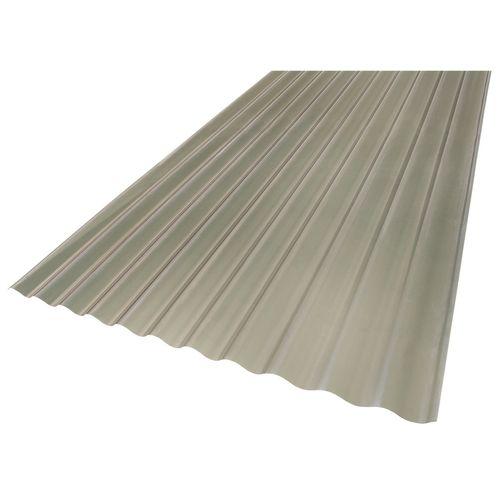 Suntuf 860 x 17mm x 7.2m Solar Grey Corrugated Polycarbonate Sheet