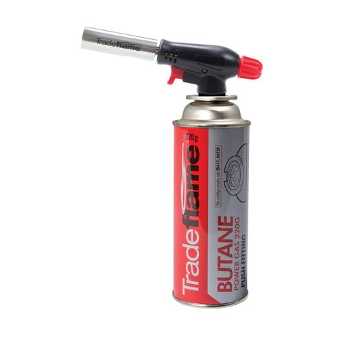 Tradeflame 220g Butane Power Gas Heating Torch