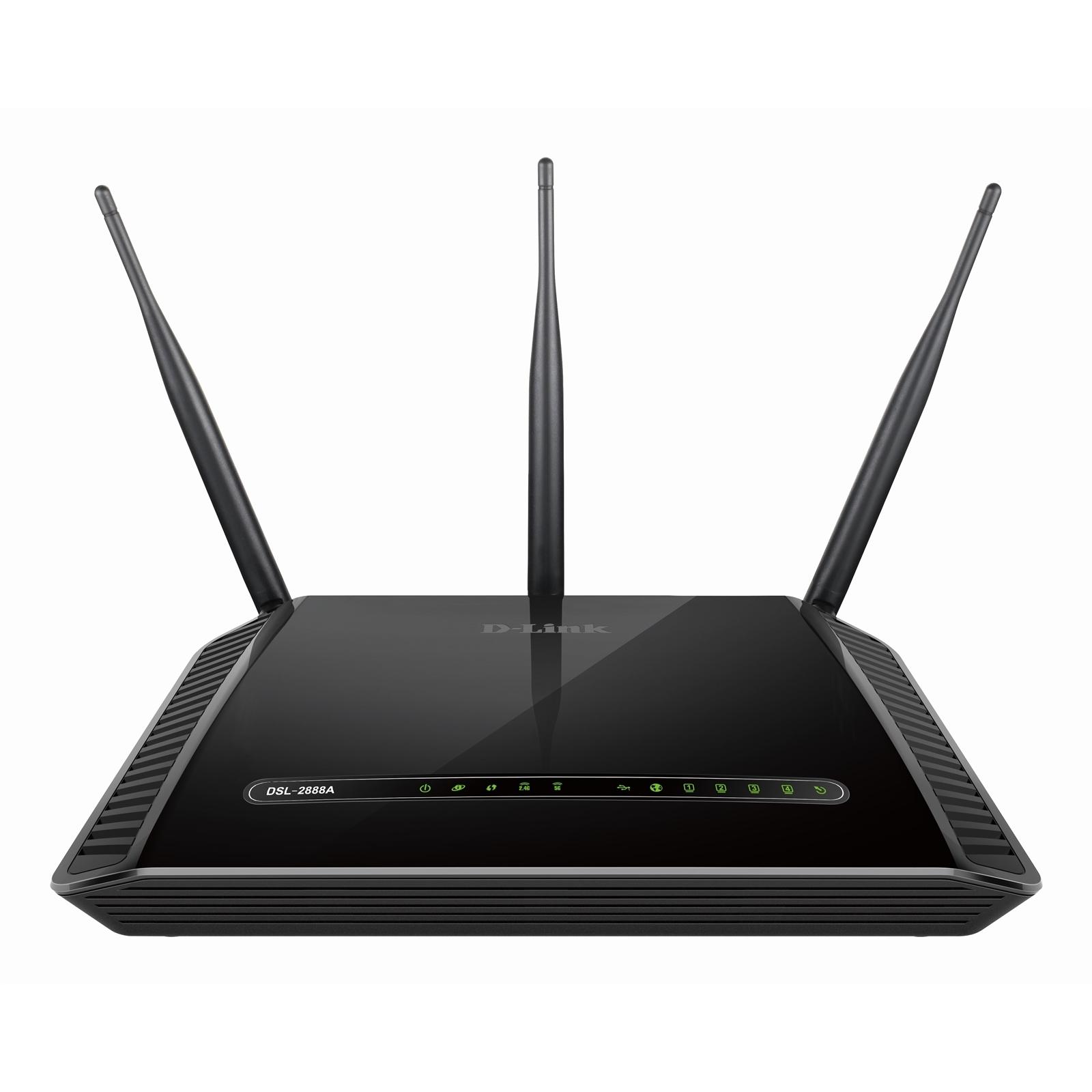 D-Link Python AC1600 ADSL2+ / VDSL2 Modem Router