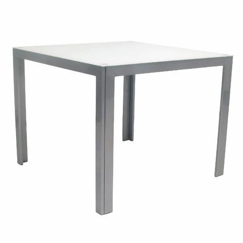 Hartman 90 x 90cm Dali Gloss Silver Table