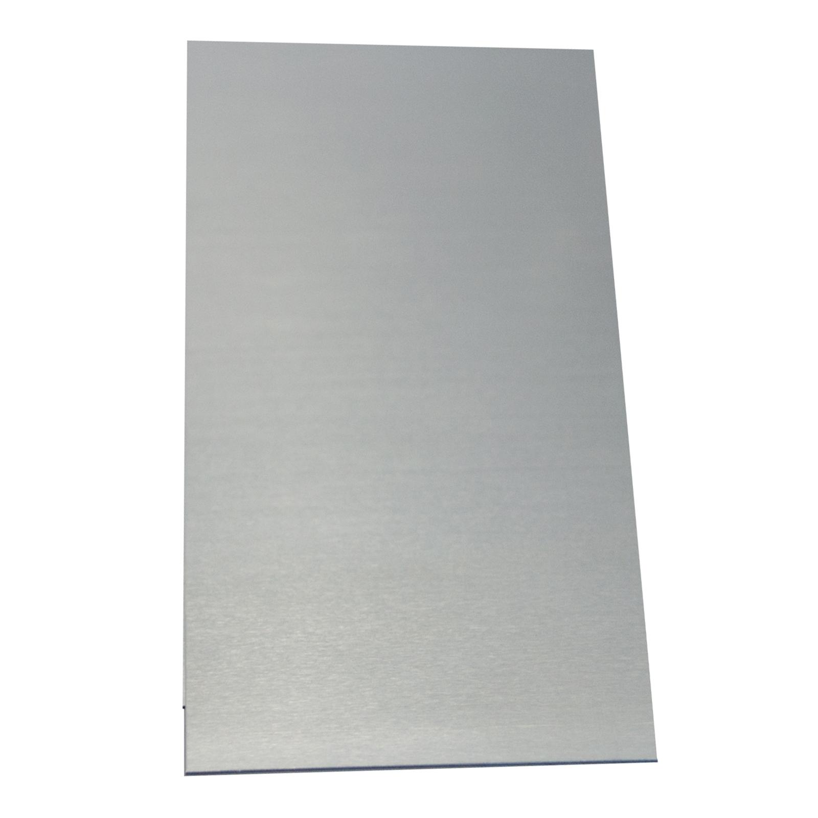Metal Mate 0.5 x 900 x 900mm Plain Aluminium Sheet