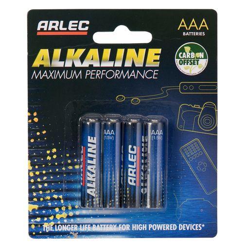 Arlec AAA Alkaline Battery BA-4AAA