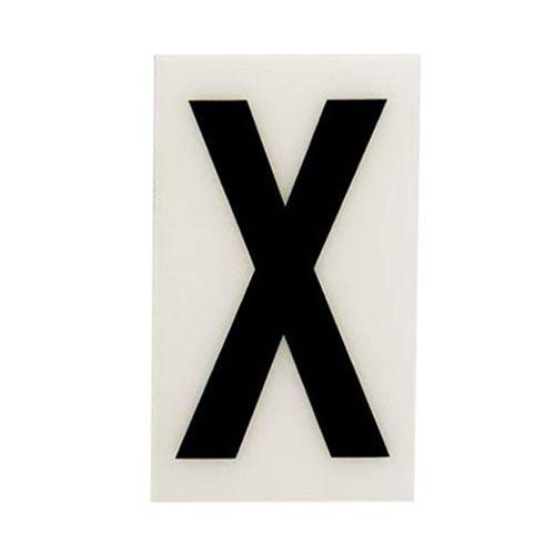 Sandleford 85 x 55mm X White Self Adhesive Letter