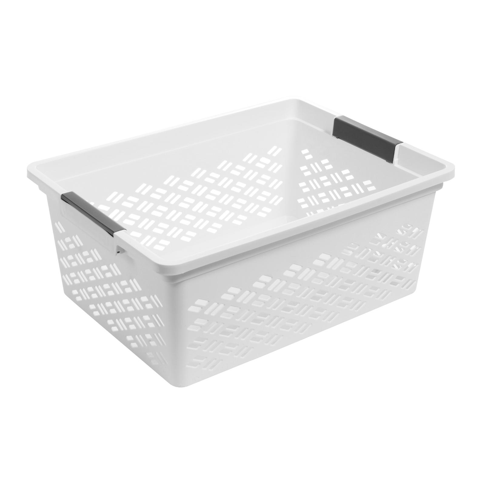Ezy Storage Large Brickor Stacking Basket