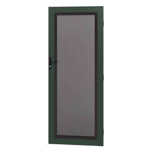 Protector Aluminium 808-848 x 2030-2070mm Adjustable Stainless Steel Security Door - Heritage Green