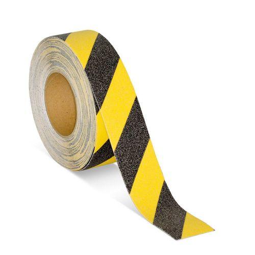 Brutus 25mm x 5m Yellow And Black Anti-Slip Tape