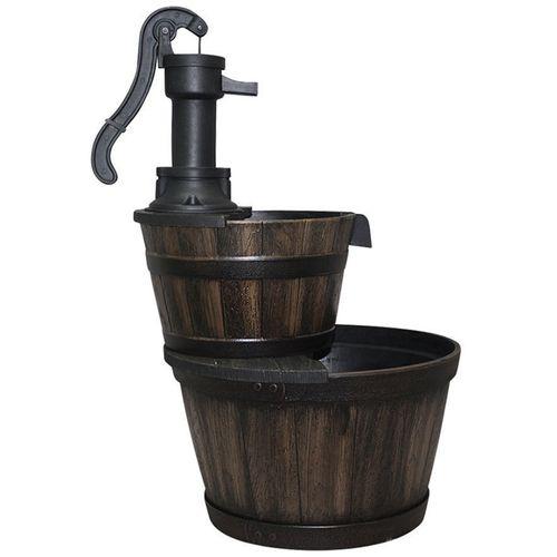 Water Magic 48 x 67cm Oakden Barrel Water Fountain