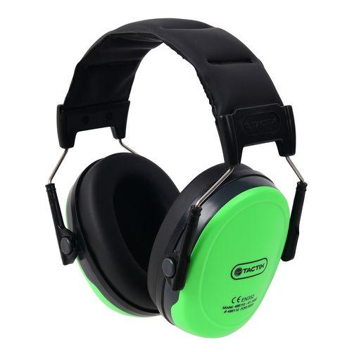 Tactix Green Children's Ear Muffs