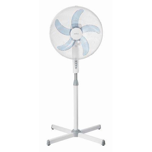 Mistral 40cm 5 Blade White Pedestal Fan