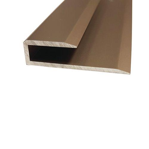 Roberts 3.3m Plank End - 10 Pack - Light Bronze