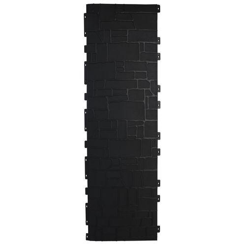 Matrix 1805 x 535 x 4 mm Charcoal Drystone Fence Panel
